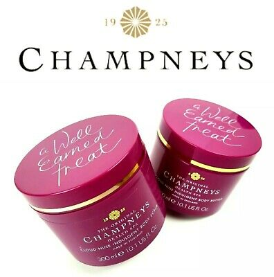 The Original Champneys Cloud Nine Indulgents Body Butter Or Body Scrub 300ml New
