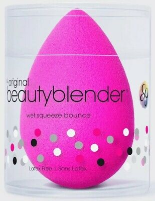 New!  • The Original Beautyblender® Baby Pink Color Bubble.  Sponge •