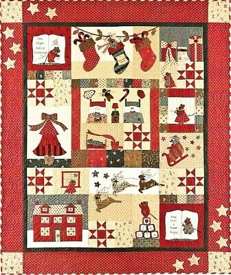 The Night Before Christmas Quilt Pattern Set by Bunny Hill