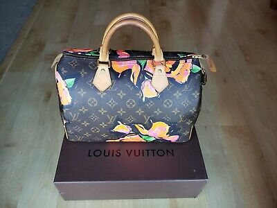 b9136980513a Authentic Louis Vuitton Stephen Sprouse Roses Speedy 30 - Limited Edition -  RARE