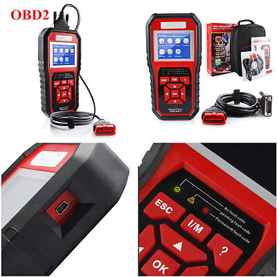 Car Auto OBD2 OBD II Diagnostic Scanner Tool Read Trouble Codes  LED Indicators