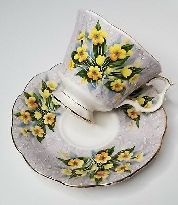 ADELPHI TEACUP/SAUCER SET, Royal Albert Festival Series, Bone China