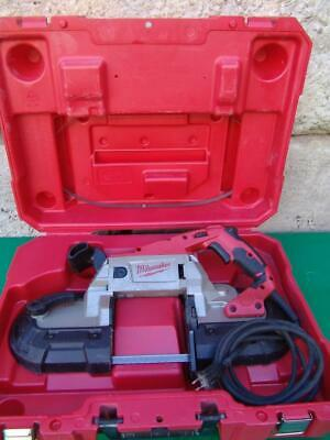 Milwaukee 6232-20 Deep Cut Variable Speed Band Saw With  Blade #3