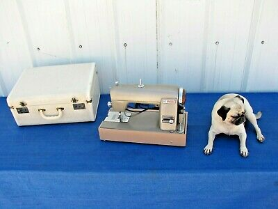 Vintage Sears Roebuck Kenmore Model 49 Rotary Sewing Machine with Case 120.49