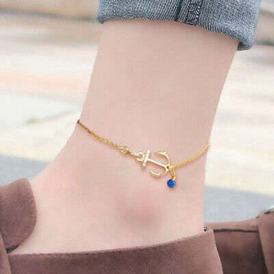 Women Spring Crystal Alloy Chain Simple Cheap Anklet Fashion Boutique Anklet