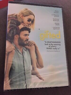Gifted (DVD, 2017, Brand New)