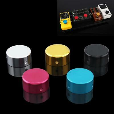 Electric Guitar Footswitch Topper Foot Nail Cap Effect Pedal Pad Cover 5 Color