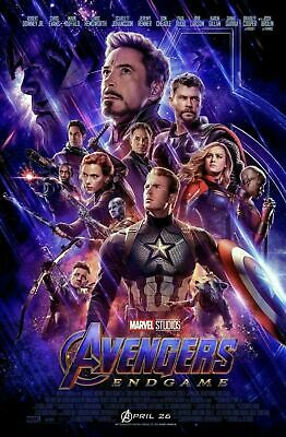 AVENGERS: ENDGAME New Original D/S Final Movie Poster 27x40