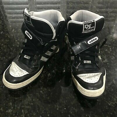 3990a00c9 Adidas Forum Def Jam Anniversary Edition Mid Shoes Black Silver Mens Size 13