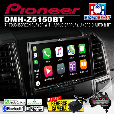 Pioneer DMH-Z5150BT Multimedia w/ Apple CarPlay/Android Auto + FREE REVERSE CAM