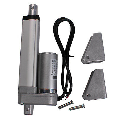 """DC24V 50mm 2"""" Linear Actuator Motor 1500N 330lbs Multi-function For Autos,Boat"""