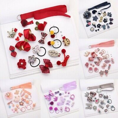 Hairpin Baby Girl Hair Clip Bow Flower Mini Barrettes Star Kids Infant 18Pcs/set