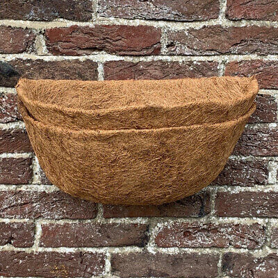Pack of 2 Garden Co-Co Wall Basket Planter Coco Liner 40cm