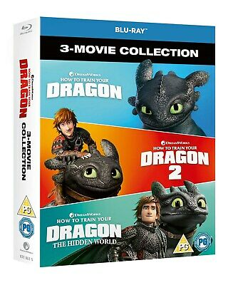 How to Train Your Dragon: 1-3 (Box Set) [Blu-ray]