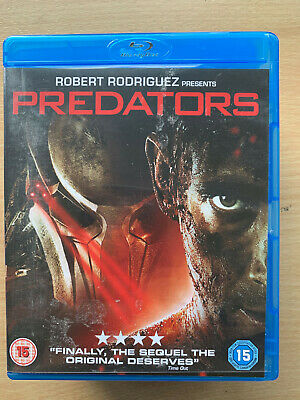 Predators Blu-Ray 2010 Sci-Fi Horror Sequel 3 Film Movie W / Adrien Brody