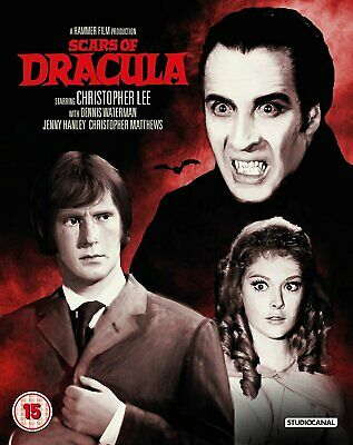Scars Of Dracula blu ray Hammer Horror Christopher Lee Studio Canal