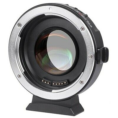 Viltrox EF-M2 Auto Focus Lens Mount Adapter 0.71x Speed Booster Canon M43 MFt