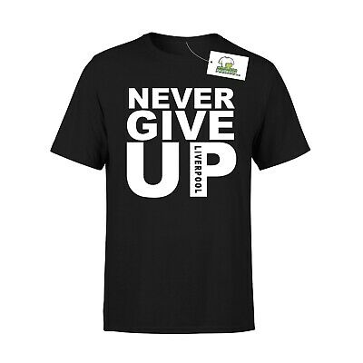 Never Give Up Liverpool Salah Inspired Kid's Tshirt