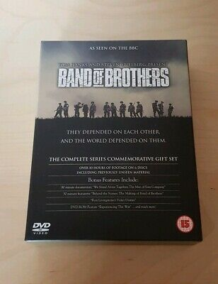 BAND OF BROTHERS COMPLETE SERIES DVD  6 disc boxset