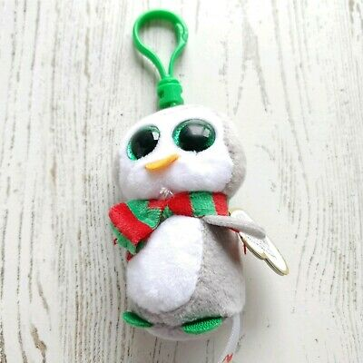 """NEW MWMT Claire/'s Exclusive Ty Beanie Boos ~ CHILLY the Holiday Penguin 6/"""""""