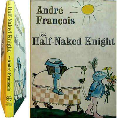 The Half-Naked Knight Cartoons and Drawings 1958 André François dessin humour