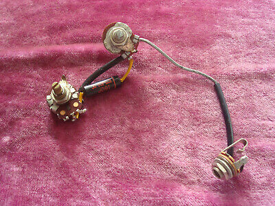 VINTAGE 1963 GIBSON Les Paul Junior Wiring Harness Sprague Cap Centralab on