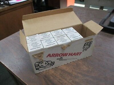 Arrow Hart Receptacle 5361GRY 20A 125V *Lot of 8* New Surplus