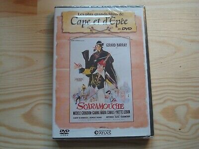 "DVD NEUF '' SCARAMOUCHE  "" Gerard Barray;;CAPE ET D'EPEE N°15"