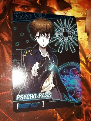 psycho pass trading card
