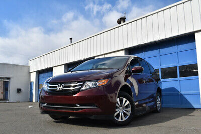2017 Honda Odyssey EX-L Virtually New 1900 Miles Heated Leather Seats Rear View Cam Full Power Save Big