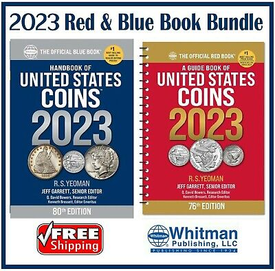 New Official 2020 Red Book Price Guide United States US Coin + Blue Book New Lot