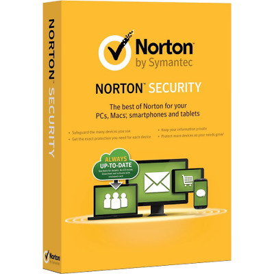 Norton Internet Security 2019 1 Year / 1 PC Antivirus Digital Key - USA / Canada