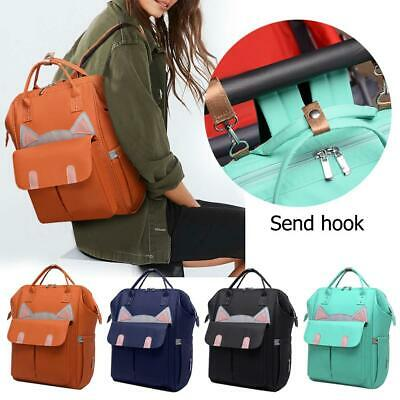 Waterproof Maternity Nappy Baby Diaper Bags Large Capacity Mommy Travel Backpack