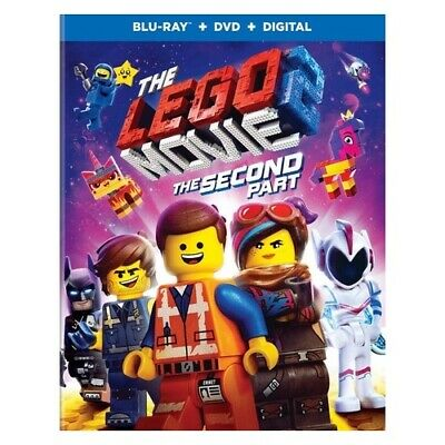 Warner Home Video Br724461 Lego Movie 2-The Second Part (2019/Blu-Ray/Dvd/Dig...