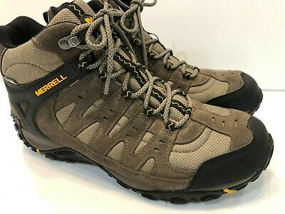 239a2ef4ab8 Merrell J319833C Accentor Mid Waterproof Boulder/Gold Hiking Shoe Sz 11.5  $130