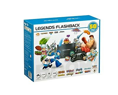 Legends Flashback BOOM! HDMI Game Console, 50 Games FB8650, FACTORY SEALED!!