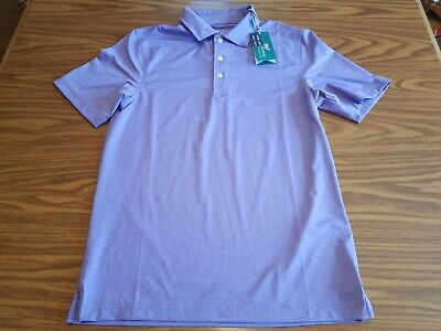 a258b8c732a7c1 NWT $85 Vineyard Vines Performance Golf Polo Shirt Men's XS Thistle Purple