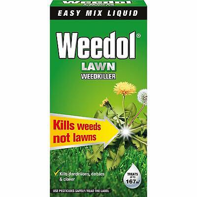 Weedol Lawn WeedKiller Concentrated 250ml Plant Grass Flower Garden Weed Prevent