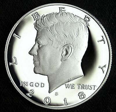 2018 S Kennedy Silver Proof Half Dollar - 90% Silver