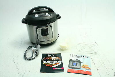 Instant Pot DUO60 6 Quart 7 In 1 Multi Use Programmable Pressure Slow Cooker