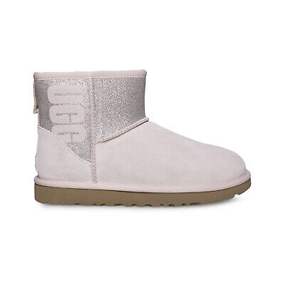 f67f5766e28 UGG CLASSIC TALL Stripe Cable Knit Boots Dusty Wysteria Seashell ...