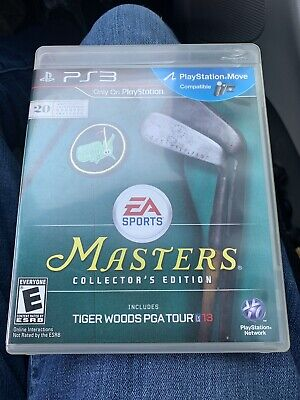 Tiger Woods PGA Tour 13 -- Masters Collector's Edition (Sony PlayStation 3,...