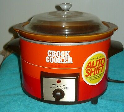 Crock Cooker Made In Japan By General Electric
