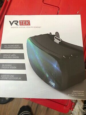 "VR-Tek Android All-In-One VR Glasses w/ 1440p Quad HD Resolution, 5.5"" Screen"