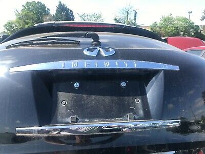 06-08 Infinity Fx35 Fx45 Tail Gate Trunk Lid Hatch Upper Chrome Trim Button OEM