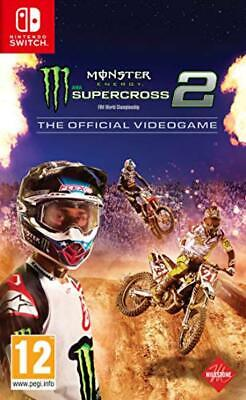 Monster Energy Supercross 2 - The Official Videogame - Nintendo Switch - NUOVO