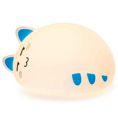 2X(One Fire Baby Nursery Night Light for Kids, Cute Cat Soft Silicone Anima H5N4