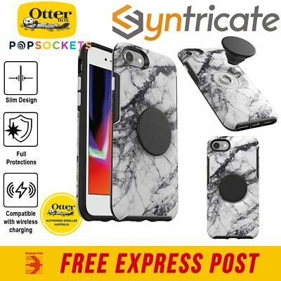 Otterbox Otter + Pop Symmetry Slim Tough Case For Iphone 8/7 - White Marble