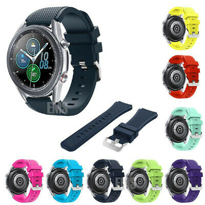 For Samsung Galaxy Watch S3 /46mm Sport Silicone Replacement Bracelet Strap Band
