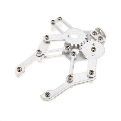 2X(aluminum alloy Mechanical Robotic Arm Clamp Claw Mount Robot Kit for Ard S2Z5